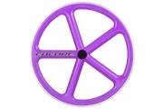 ENCORE Front Wheel Purple Carbon Weave
