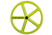 ENCORE Rear Wheel Lime Carbon Weave